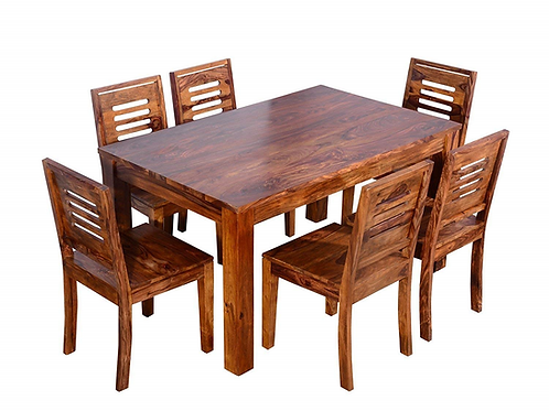 BERNARD SHEESHAM DINING SET (6 SEATS)
