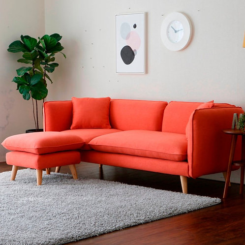 Rafina 3 seat sofa with Ottoman