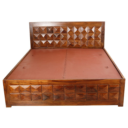 Aura Sheesham King Size Bed