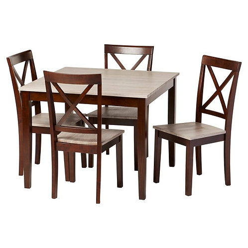 ROLLO DINING SET (4 SEATS)