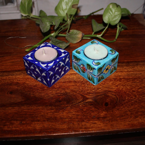 Jaipore Tea Candle Holder - Pack Of 2