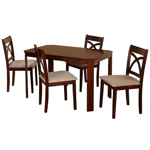 ZOLA DINING SET (4 SEATS)