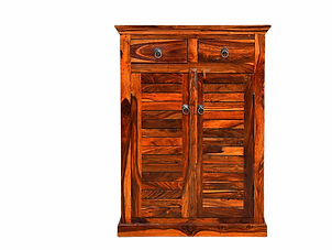 Luno Sheesham Side Cabinet