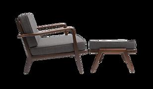 Brioche Armchair and Futon Set