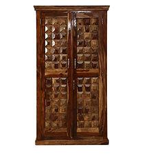 Kirken Sheesham Wardrobe Cabinet