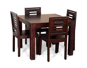 Bernard Sheesham Dining Set (4 Seat)