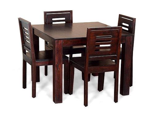 BERNARD SHEESHAM DINING SET (4 SEATS)