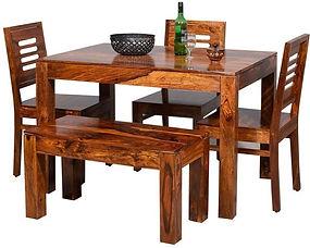 ARDON SHEESHAM DINING SET (6 SEATS)