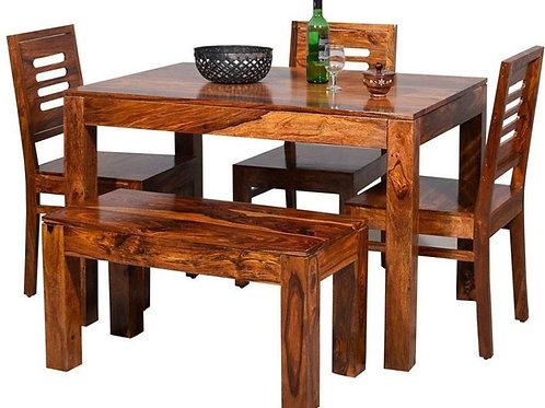 ARDON SHEESHAM DINING SET (6 SEATS)