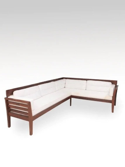 Curico 5-seat Wooden Sofa