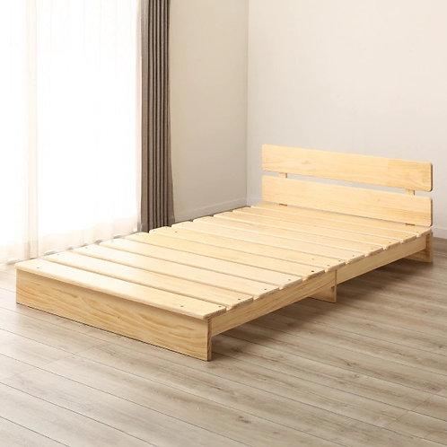 Mossel Low Platform Bed
