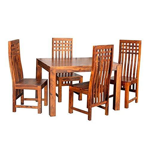 MUHL SHEESHAM DINING SET (6 SEATS)