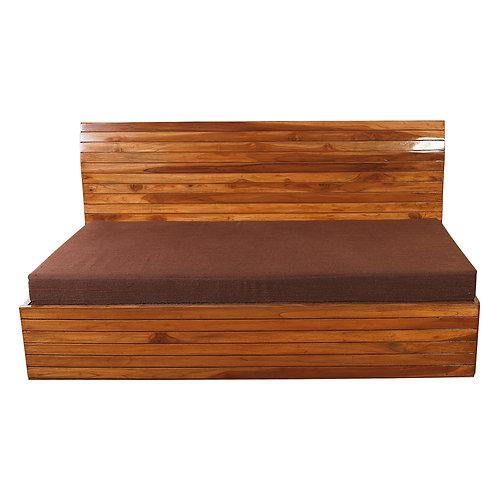 PLUM SOFA CUM BED