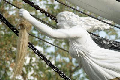 The Cutty Sark's Figurehead