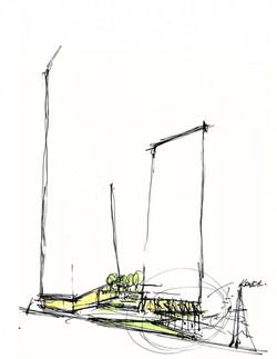 Plaza Sketch