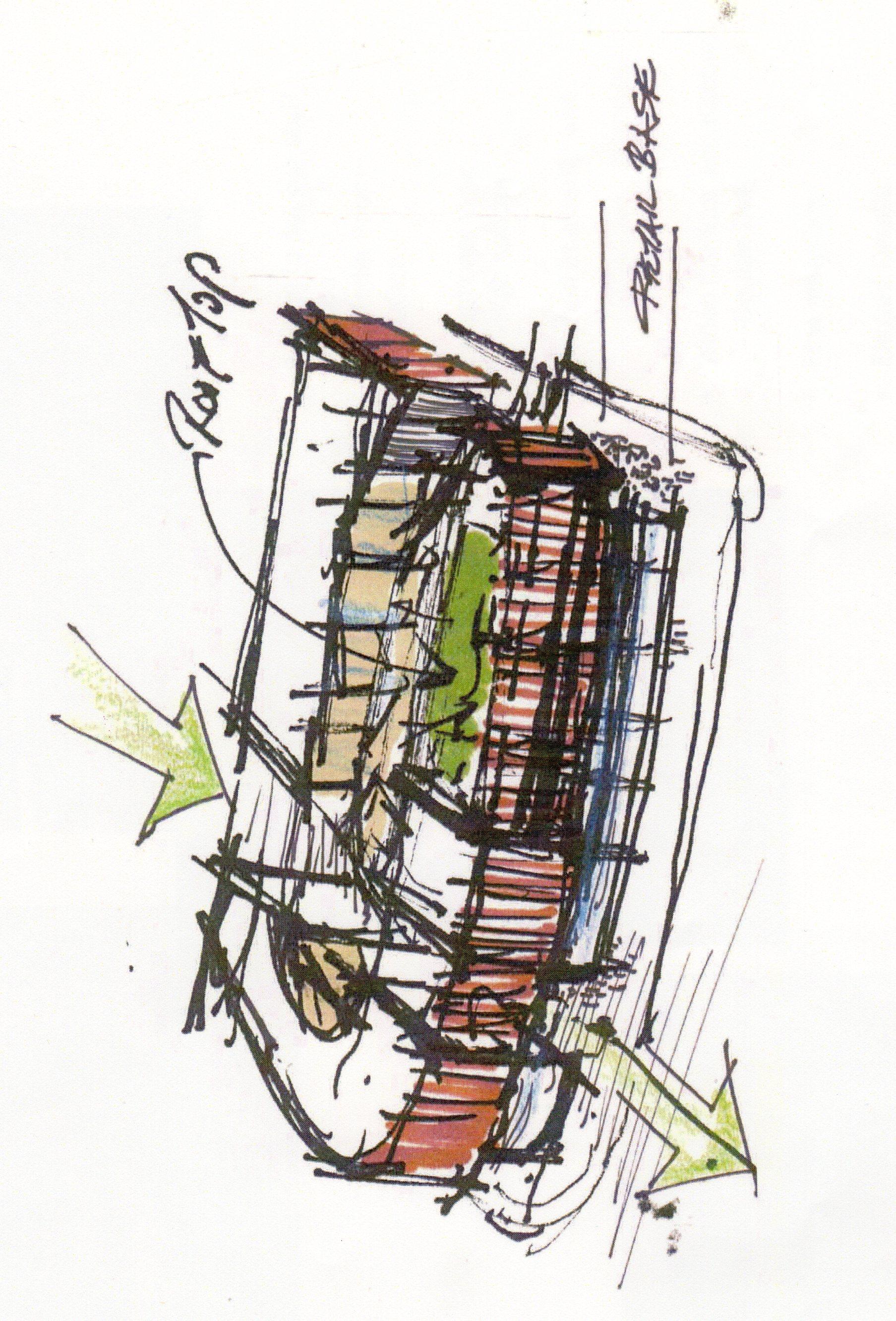 Circa Greenlake-Aerial Sketch