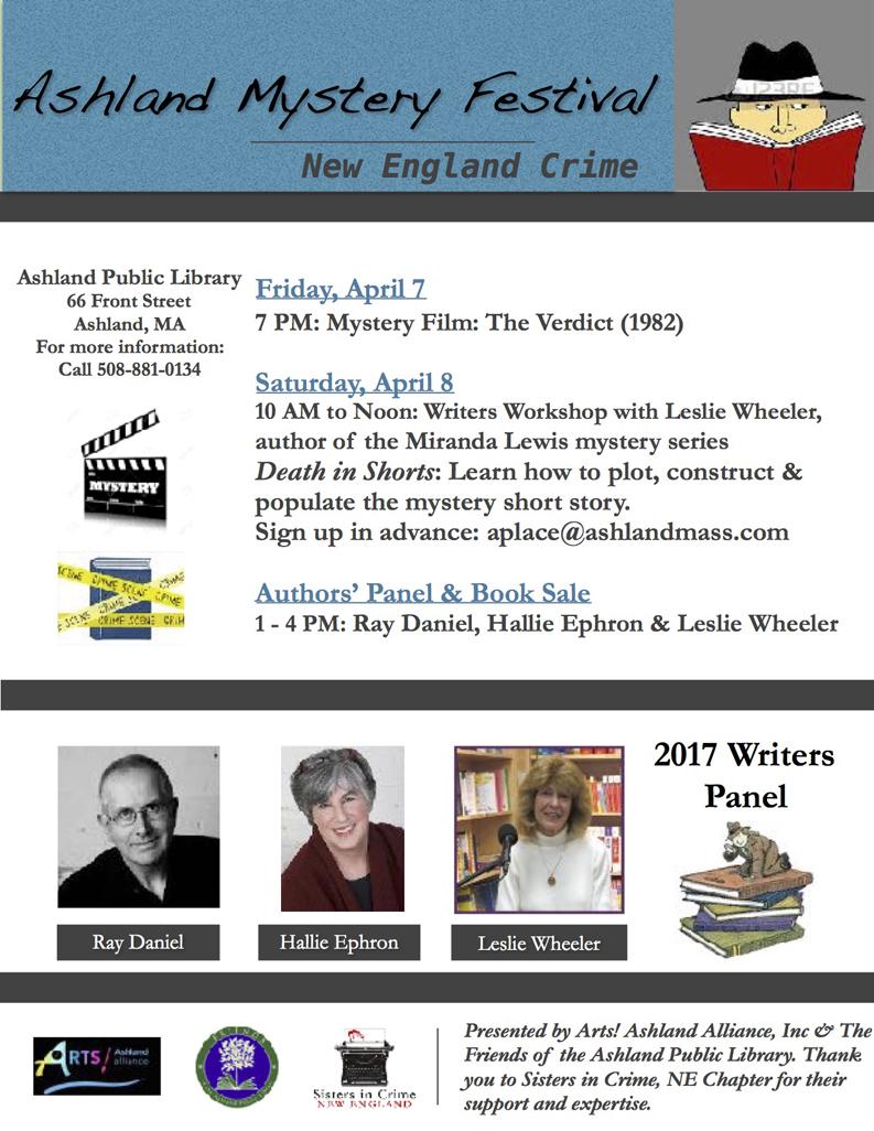 2017 Ashland Mystery Festival Flyer 2