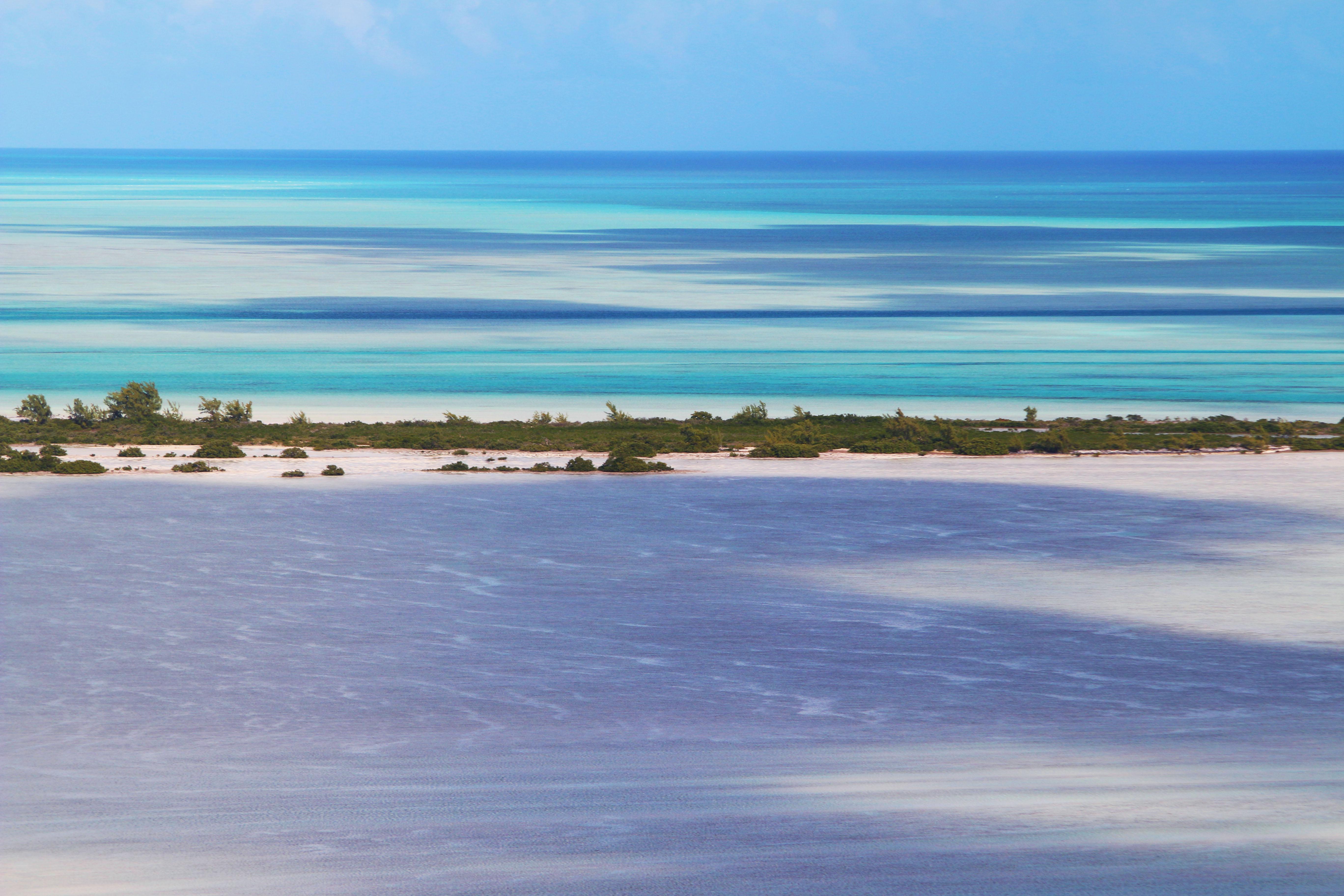 Joulters flats, Bahamas