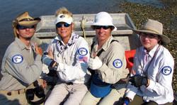 CBC survey team