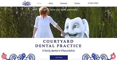 Courtyard Dental Practice by Ada Digital Marketing