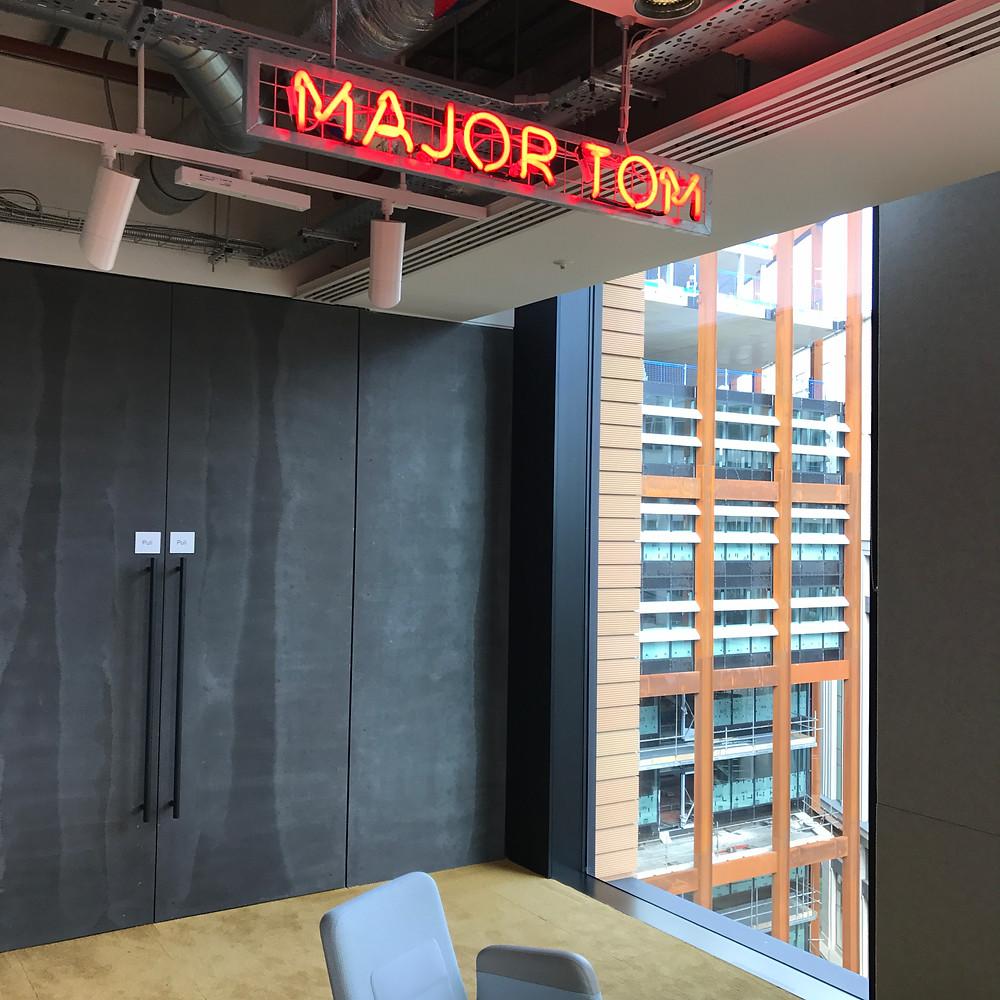 Google Event - Major Tom