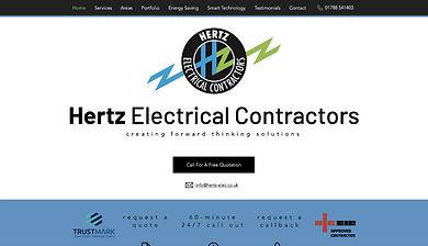 Hertz Electrical Contractors by Ada Digital Marketing