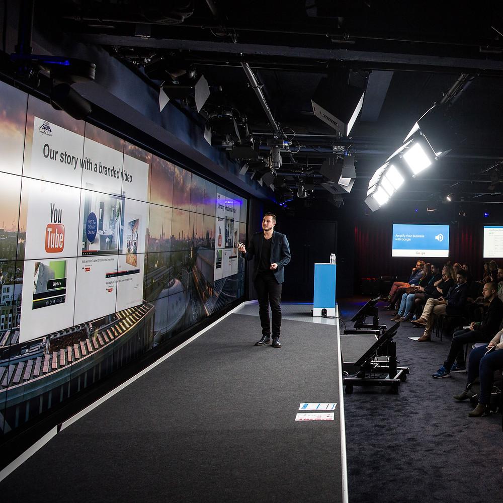 Tom Murrell Amplify My Business Google Event