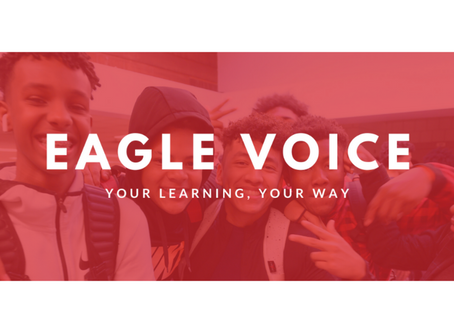 """Eagle Voice: Student Event Helps Elevate Student Voice and Deliver """"What If?"""" Culture"""
