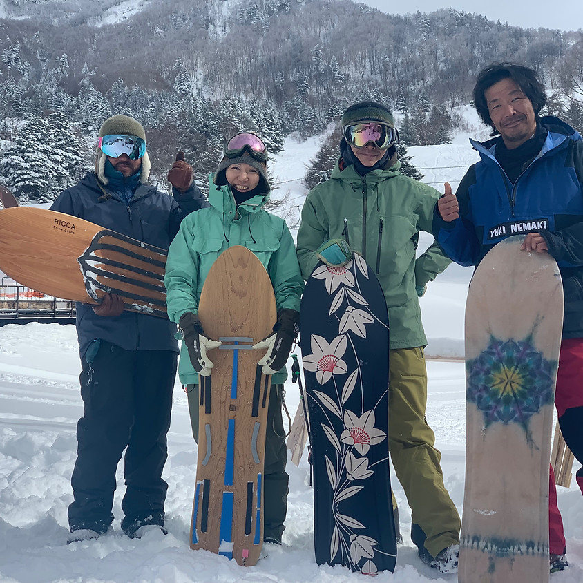 Hiroshi Matumoto✖️RICCA snow guide  スノーボード or 雪板 1Day