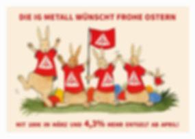 IG Metall Weihnachtsgeld Illustration Benirschke