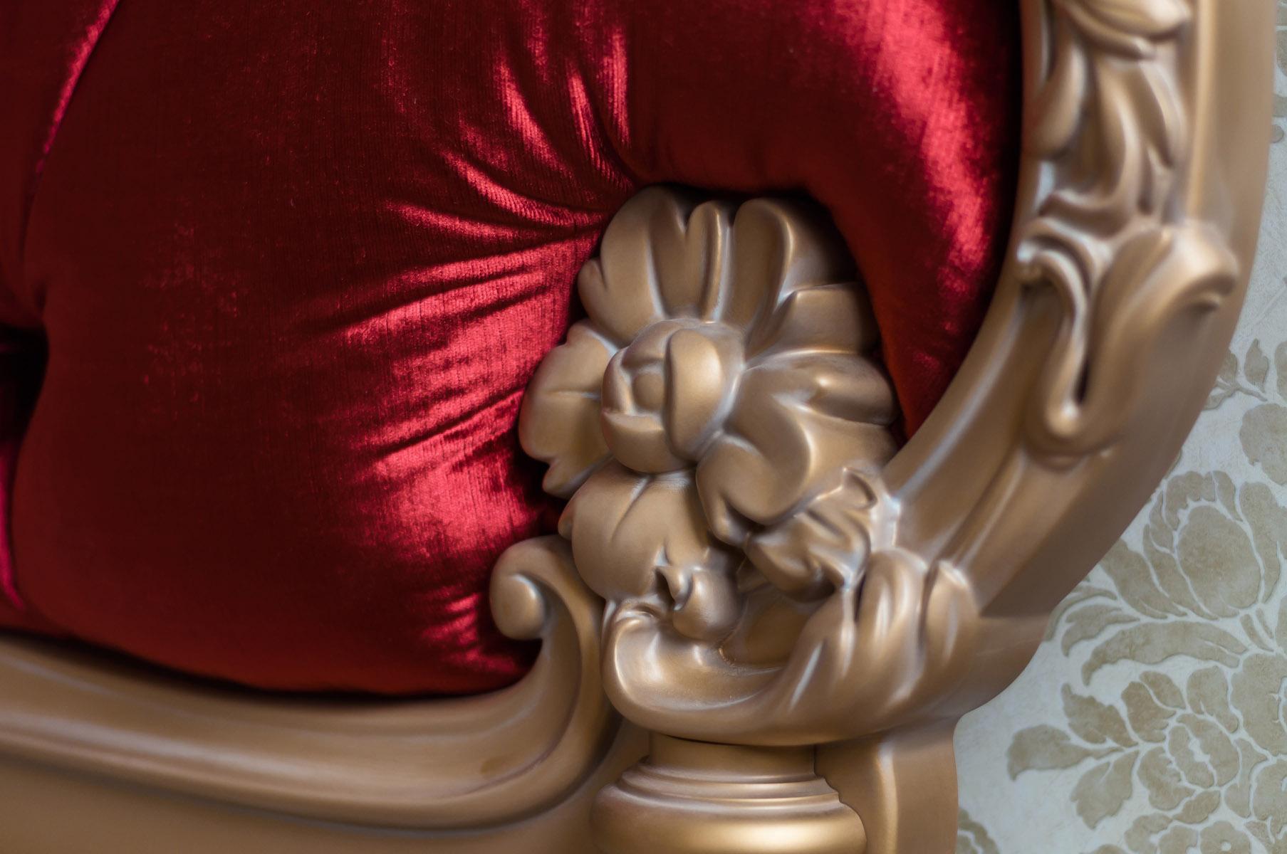 кровать, деревянный элемент