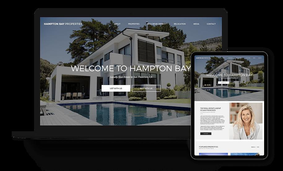 Hampton Bay Properties - Real Estate Template