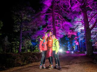 Night walk event Scotland