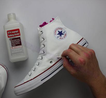 hand painted custom converse