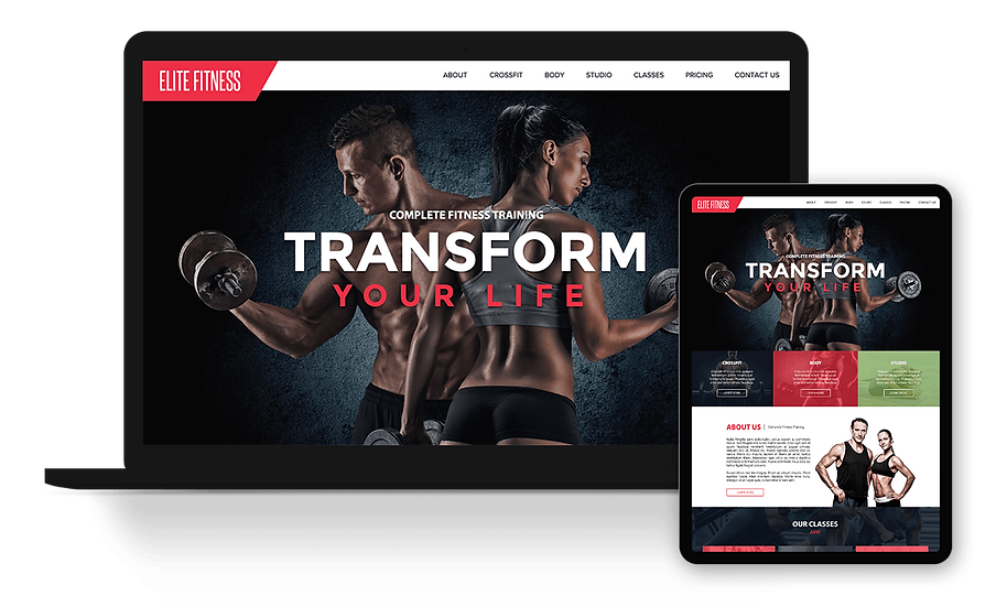 Elite Fitness - Fitness / Gym / Trainer Template