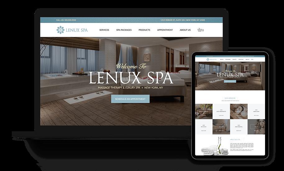 Lenux Spa - Spa Template