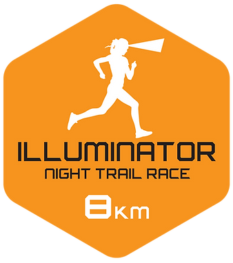 Illuminator 8k night trail race