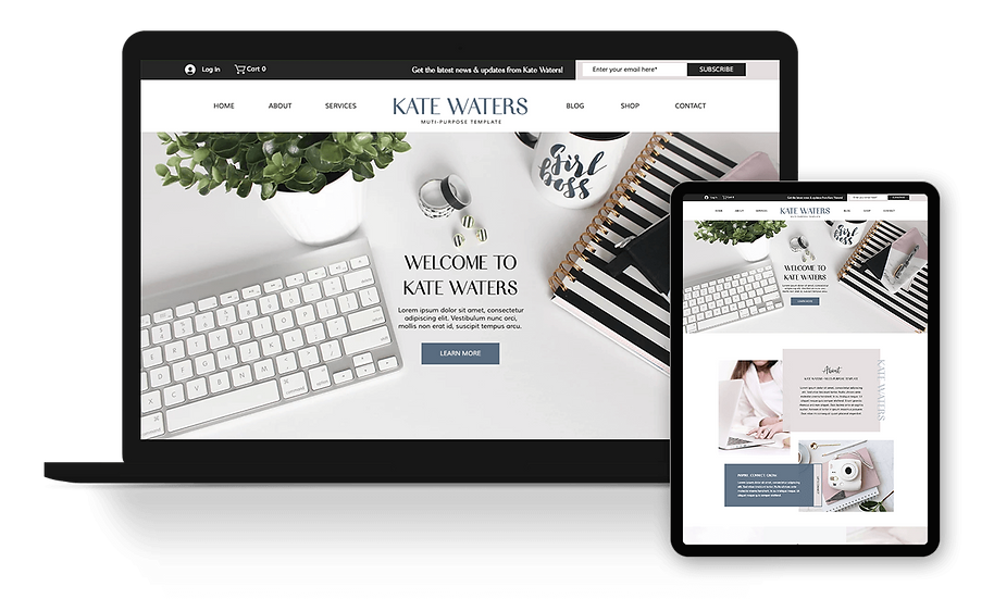 Kate Waters - Coach / Consultant Template