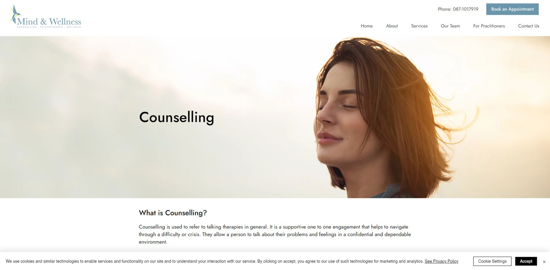 Therapists website
