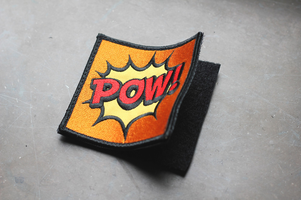 velcro embroidered patch