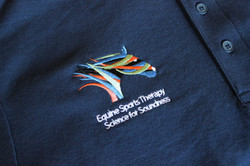 Equestrian Embroidered Logo