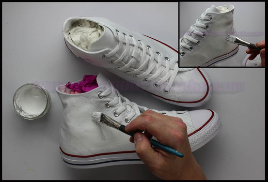 hand painted chucks