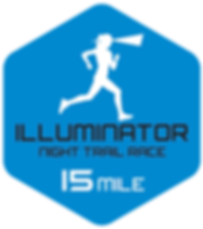 Illuminator night trail race 15 mile