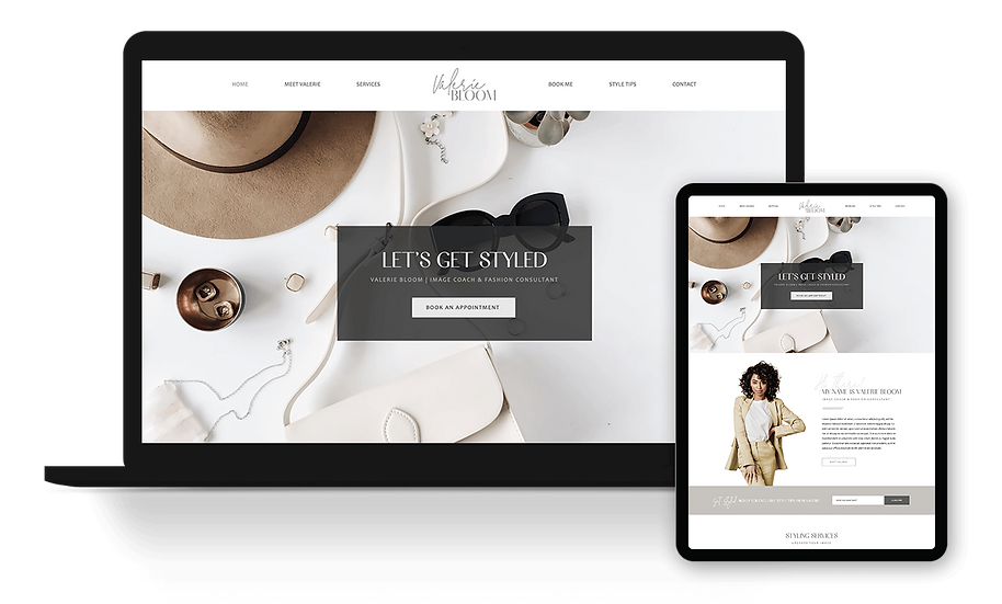 Valerie Bloom - Image & Fashion Consultant Template