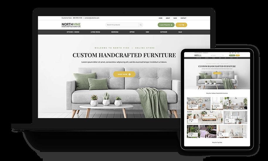 Northvine - eCommerce / Furniture Store Template