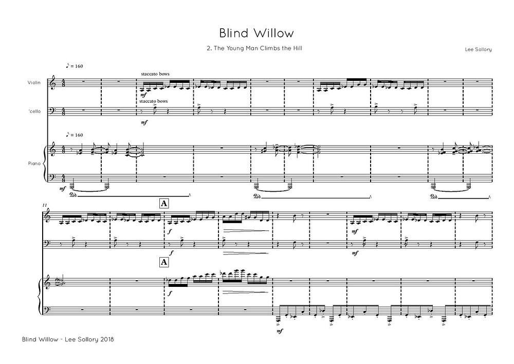 Blind Willow Sheet Music