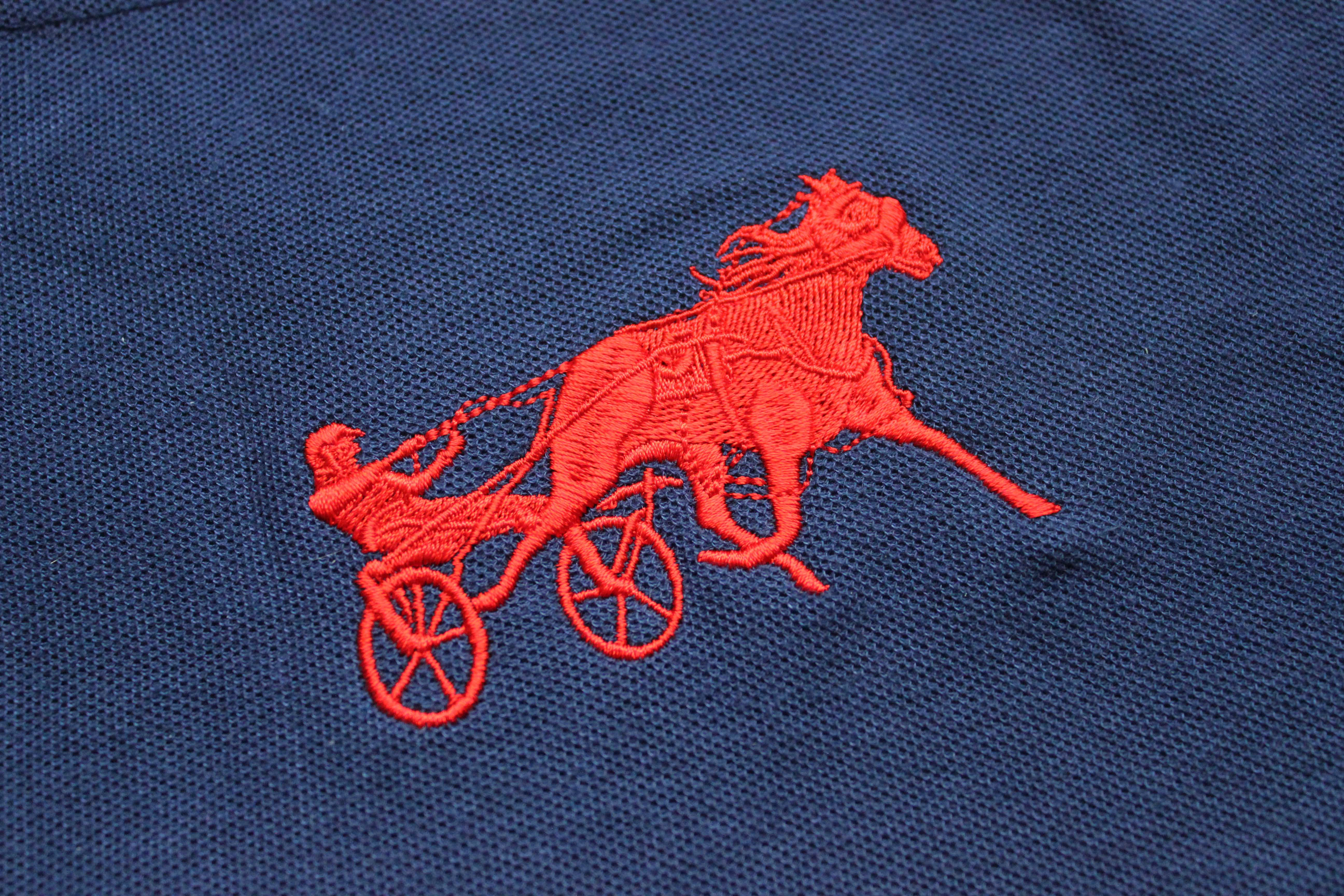 Equestrian Horse Logo Embroidery