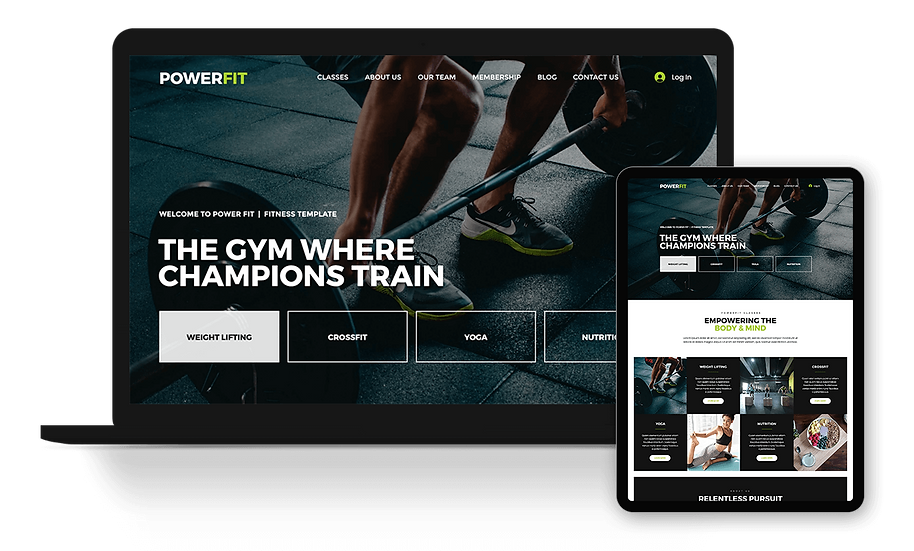 PowerFit - Fitness / Gym / Trainer Template