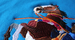 Large Horse Embroidery