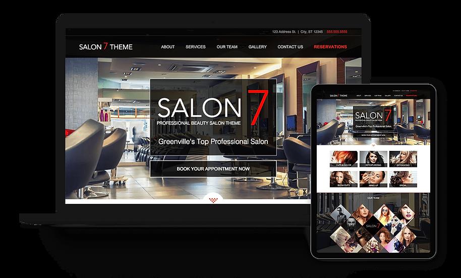 Salon 7 - Hair Salon Template